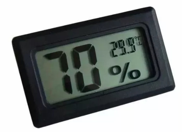 Termo-higrometro Digital Preto com Termopar 46.005PT