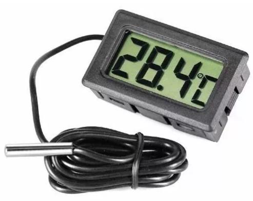 Termometro Digital  Faixa de temperatura -50 -> 110 46.002
