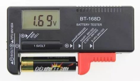 Testador Teste De Pilhas E Baterias Digital 45.14.002