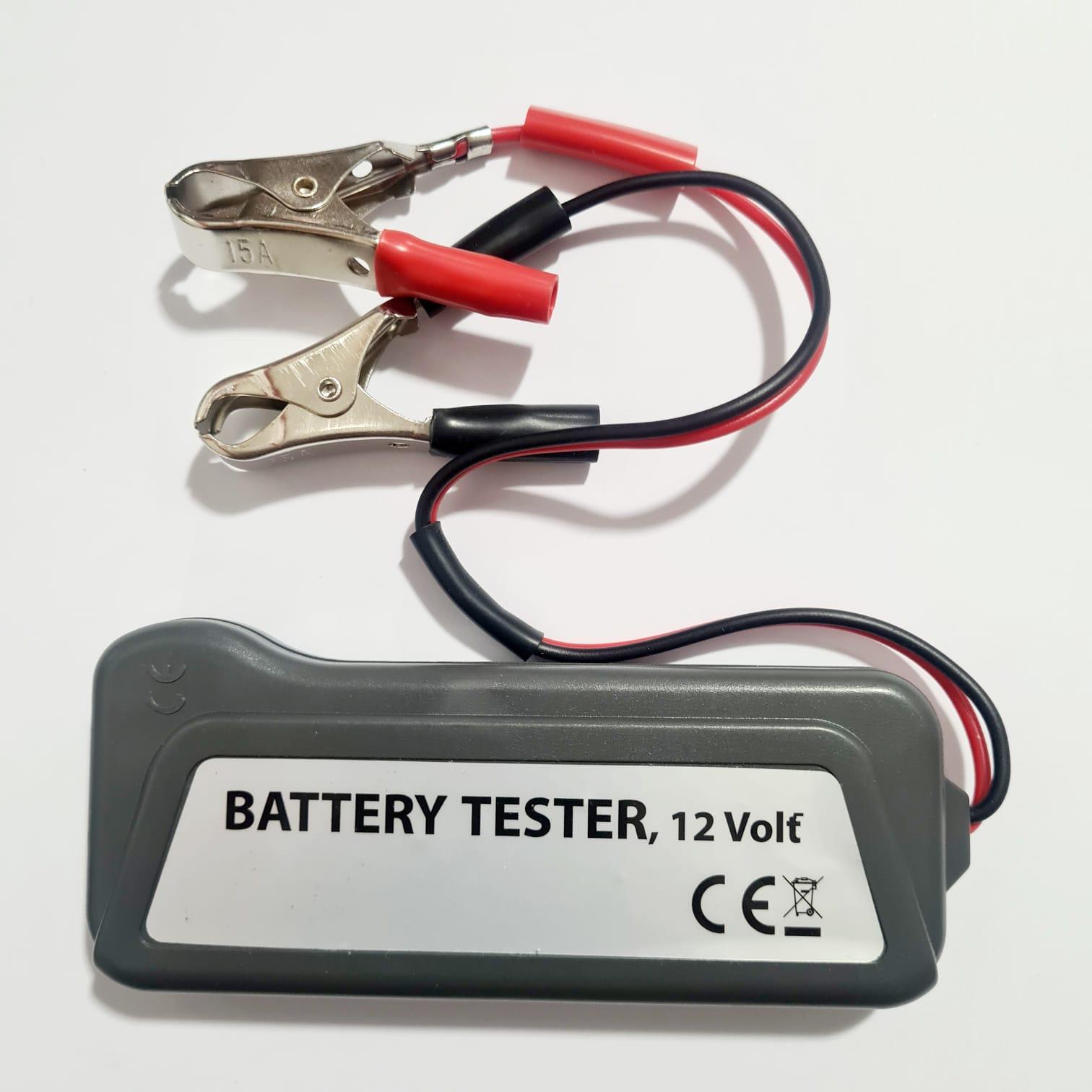 Teste De Bateria E 12v Alternador Carro/moto 45.14.003