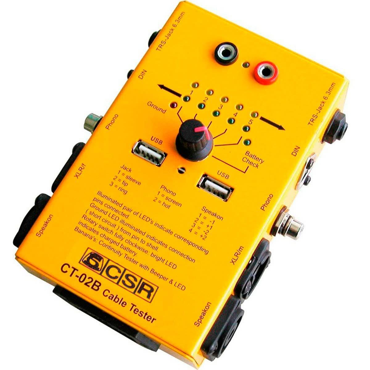 Teste Multi Cabo P10 / RCA / XLR / Speakon / DIN /P2 CSR 46.045