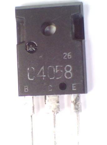 Transistor 2SC4058  TRANS 47