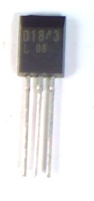 Transistor NPN 2SD1843  TRANS