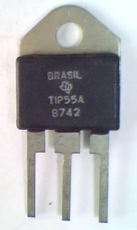 Transistor NPN Chaveamento TIP55A  TRANS  122