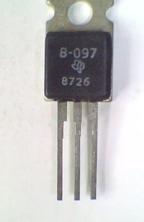 Transistor NPN Saida Vertical B097  TRANS 71