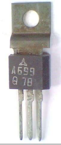 Transistor PNP Audio 2SA699  TRANS  13