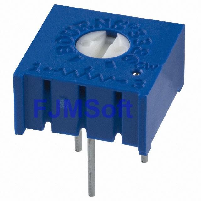 Trimpot Multivolta 3386F 1 Volta 103 10kr