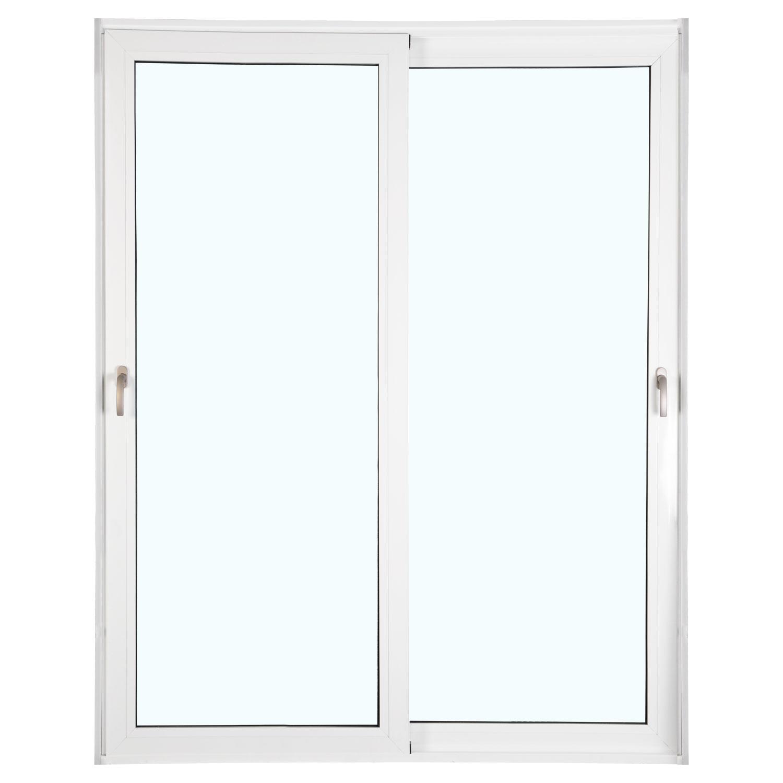 Porta 2 folhas de Correr com Vidro Sem Travessa com Fecho Multiponto - 150x215 - Veneza