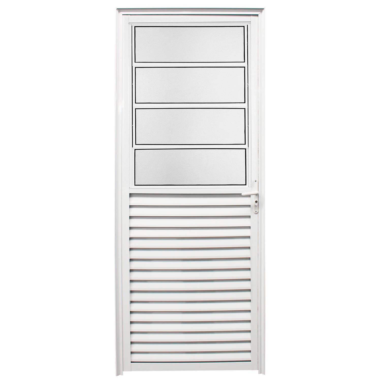 Porta De Abrir Basculante 80 x 210 (Lado Direito)  Home