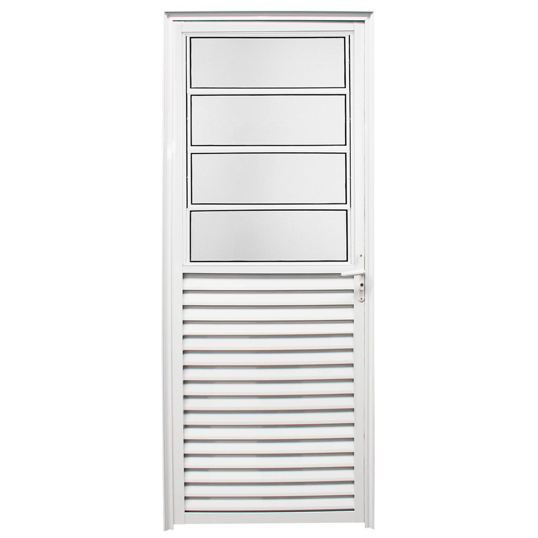 Porta De Abrir Basculante 80 x 210 (Lado Esquerdo)  Home