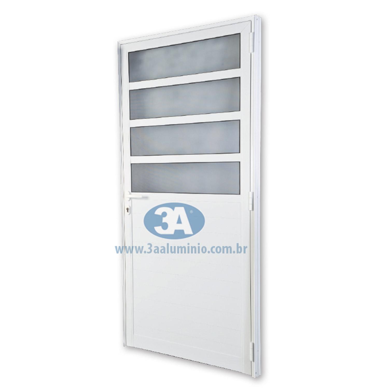 Porta De Abrir Ingresso 1 Folha  88x215 (Lado Esquerdo) - Idea