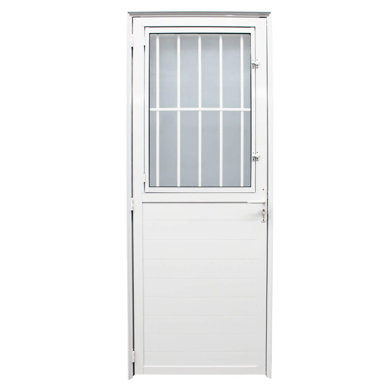 Porta De Abrir Postigo com Lambri 90 x 210 (Lado Direito)  Home