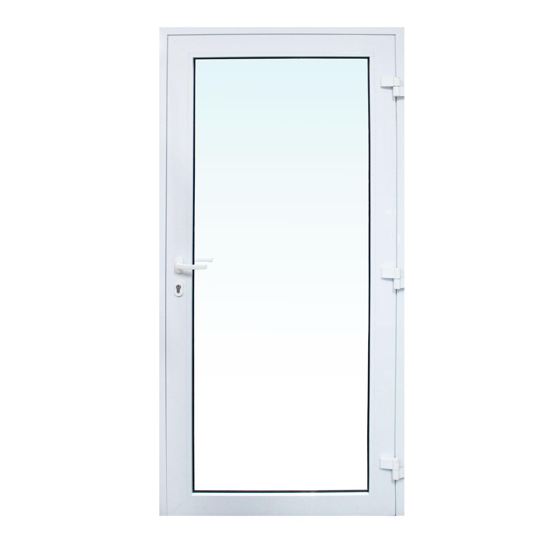 Saldão - Porta de abrir Sociale 1 folha - Vidro Laminado Incolor 6mm ( lado Direito) 88 x 215 - Sociale