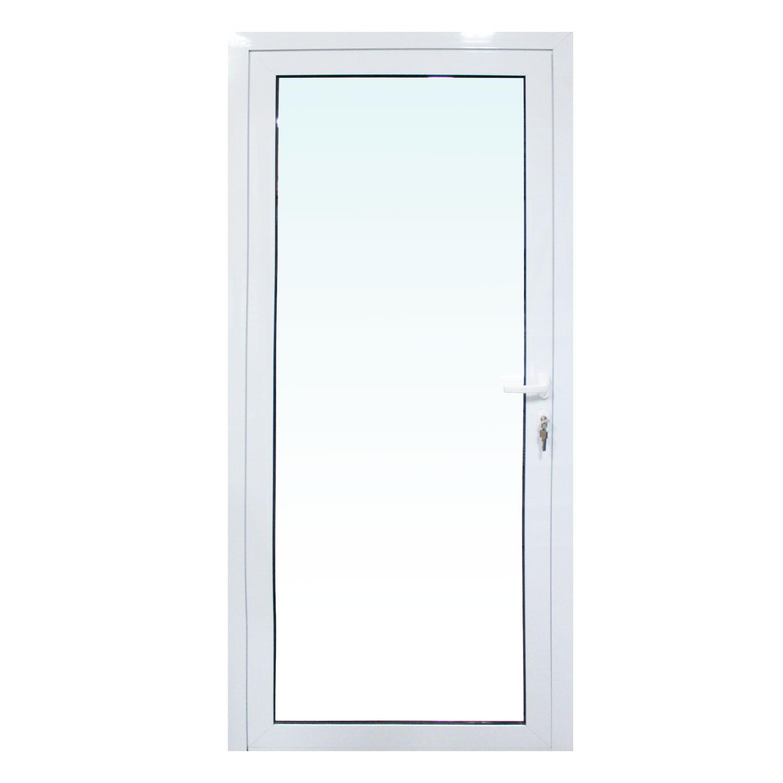 Saldão - Porta de abrir Sociale 1 folha - Vidro Laminado Incolor 6mm ( lado Esquerdo) 88 x 215 - Sociale