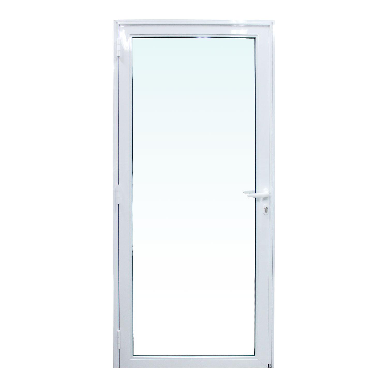 Saldão - Porta de abrir Vetro 1 folha - Vidro Laminado Incolor 6mm ( lado Direito) 88 x 215 - Idea