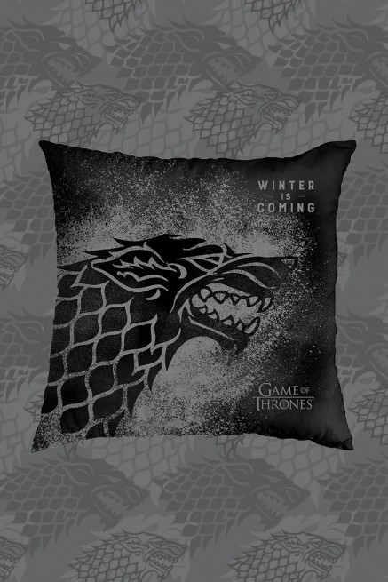 Almofada Game of Thrones Winter is Coming