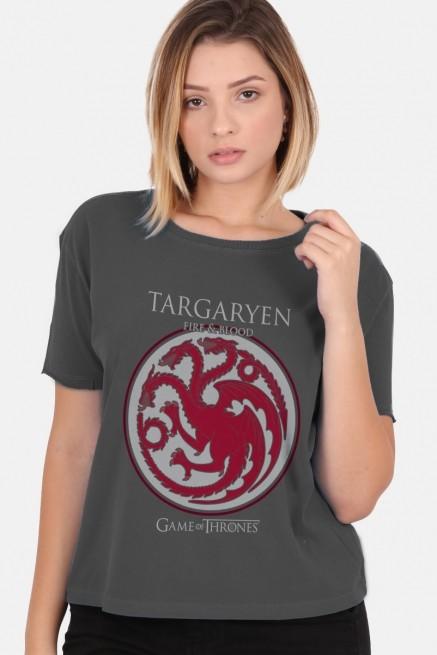 Camiseta Box Game of Thrones Targaryen Brasão