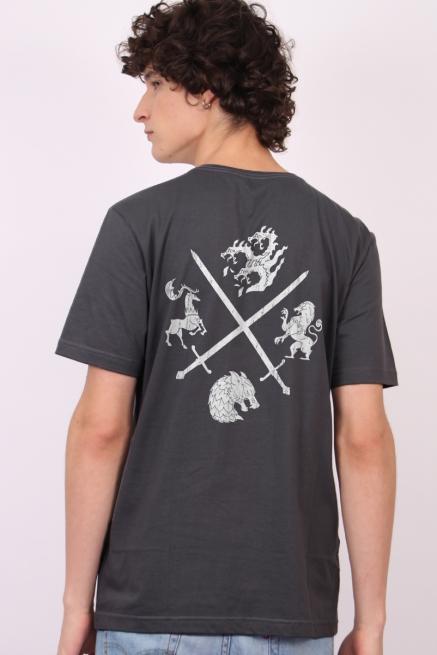 Camiseta Game of Thrones 10 Anos Houses of Westeros