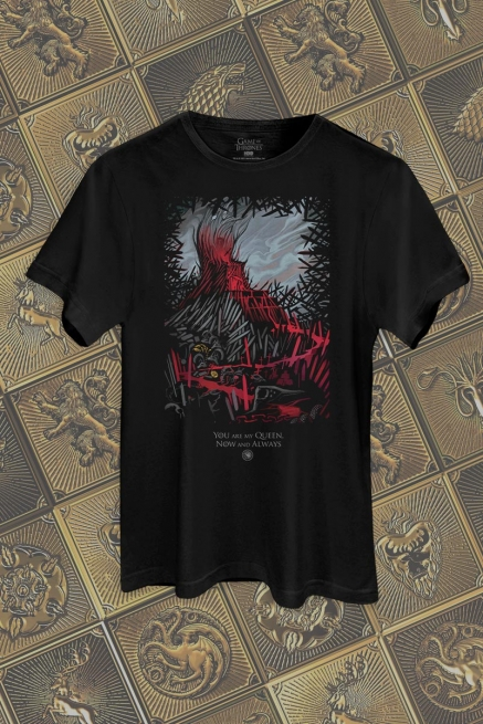 Camiseta Game of Thrones 10 Anos You are my Queen
