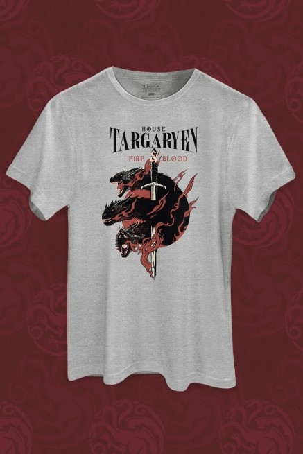 Camiseta Game of Thrones House Targaryen
