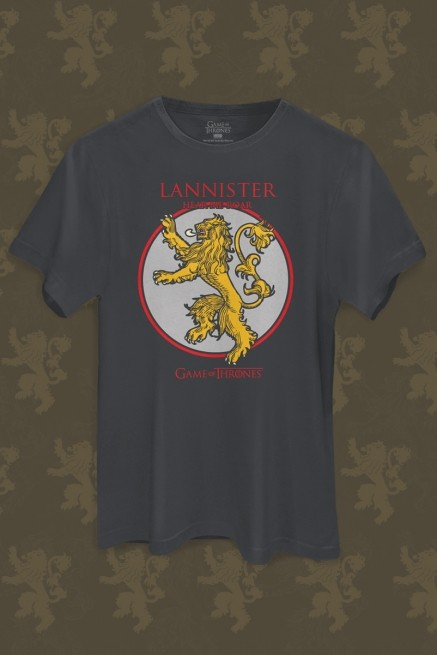 Camiseta Game of Thrones Lannister Hear me Roar