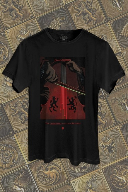 Camiseta Game of Thrones The Lannisters