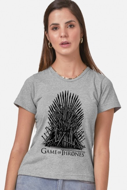 Camiseta Game of Thrones Trono de Ferro
