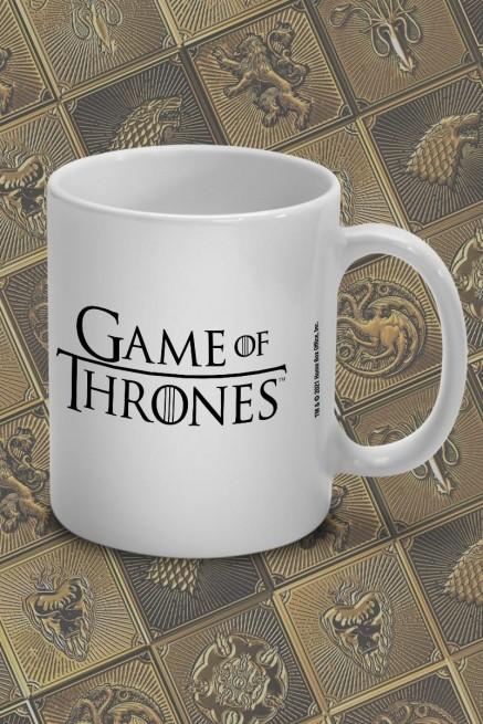 Caneca Game of Thrones Stark, Targaryen e Lannister
