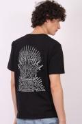 Camiseta Game of Thrones 10 Anos Throne of Memories