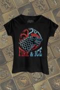 Camiseta Game of Thrones Fire & Ice