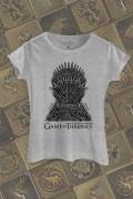 Camiseta Game of Thrones Trono de Ferro