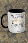 Caneca Game of Thrones You Win or You Die