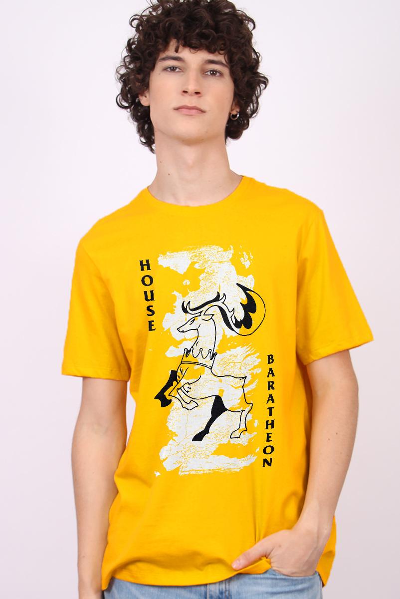 Camiseta Game of Thrones 10 Anos House Baratheon