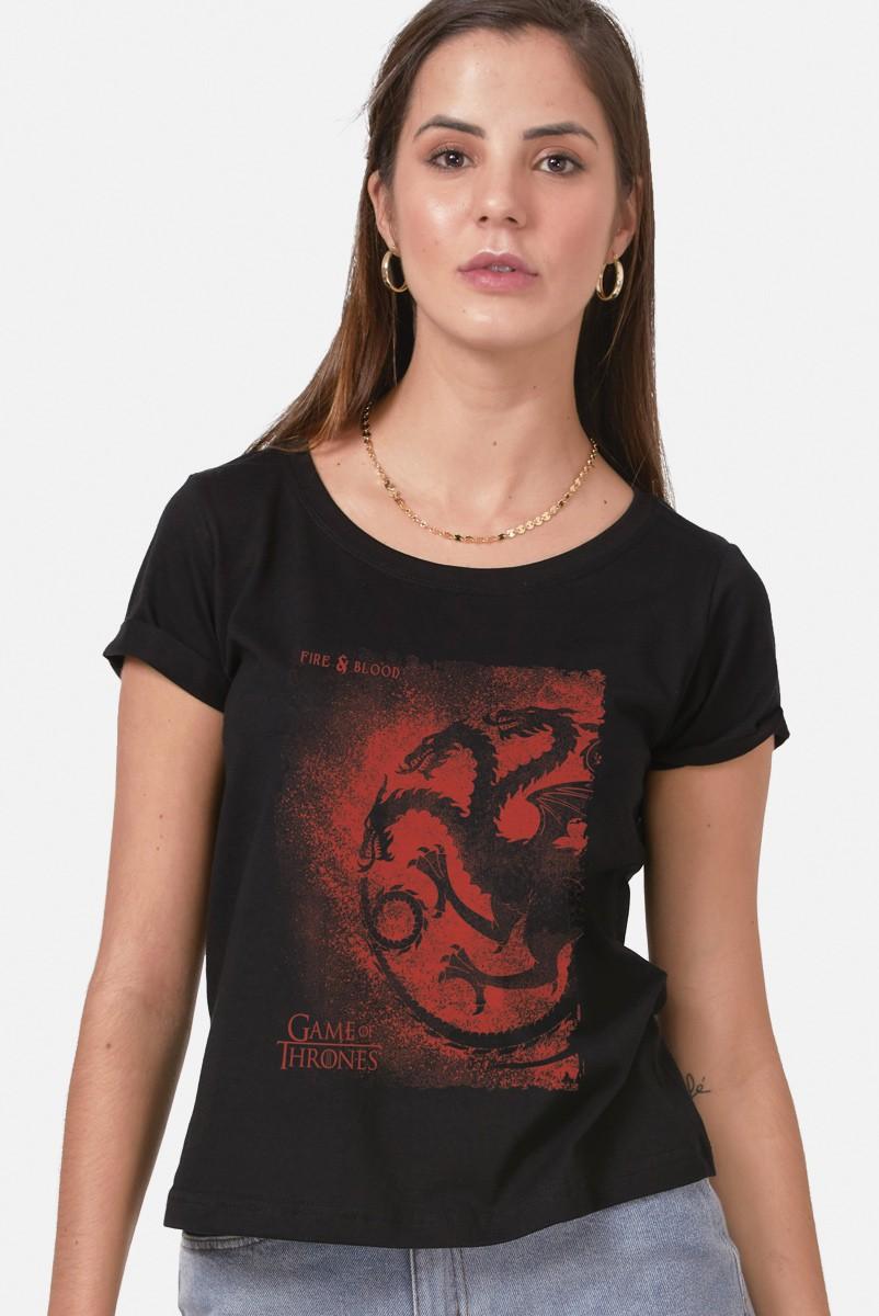 Camiseta Game of Thrones Fire & Blood