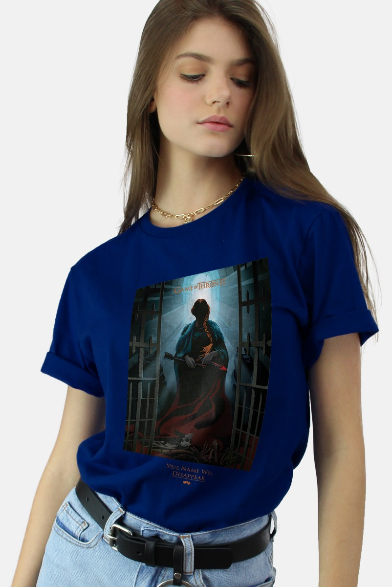 T-shirt Game of Thrones Your Name will Disappear