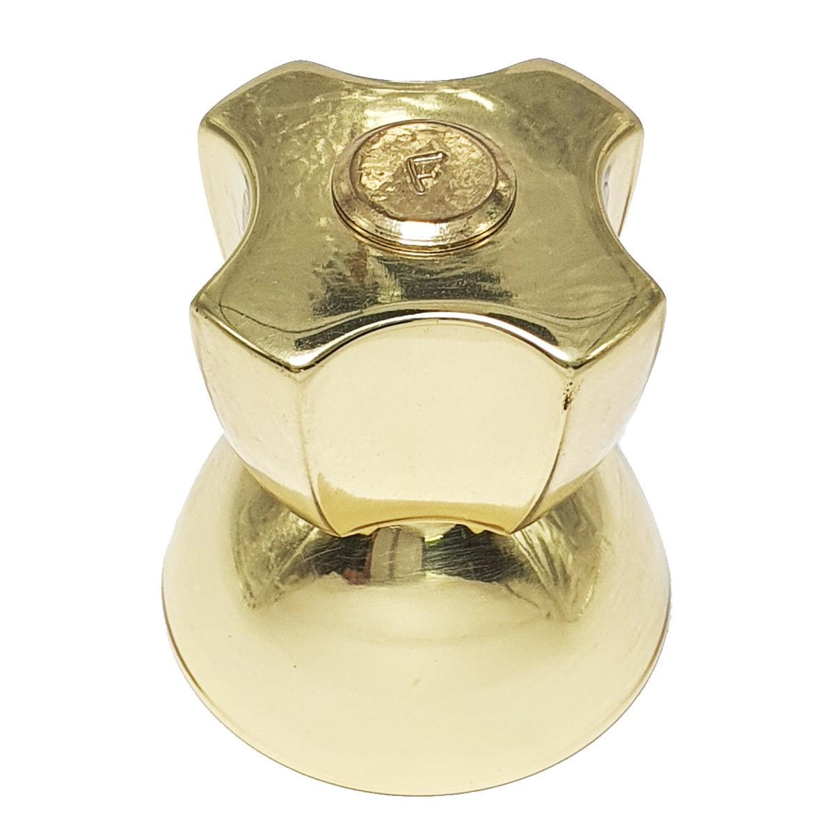 Acabamento Registro Diplomata Deca Dourado Pequeno - 4900D48PQ