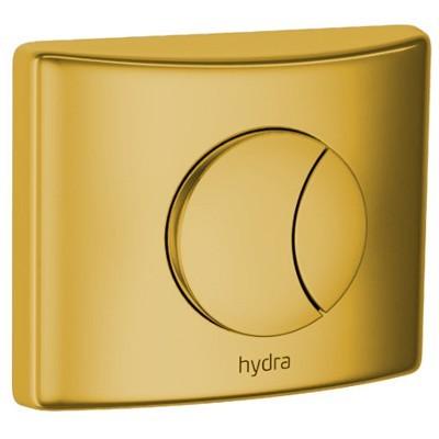Acabamento GOLD P/ Valvula Descarga Hydra Duo Deca 4900glduo