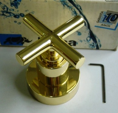 Acabamento Registro Duna Clássica Dourado Deca - 4900D64PQ