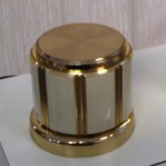 Acabamento Registro Deca MAXIM BEGE com dourado - 4900E75BEDO