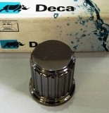 Acabamento para registros deca  ACROPOLE S80 onix 1/2, 3/4 E 1