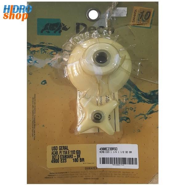 Acabamento Registro Grande Deca Standard Branco - 4900E23BRGD