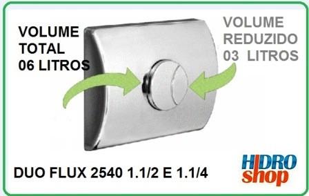Acabamento Valvula Duo Flux 2540 G1 Grande - 4900355