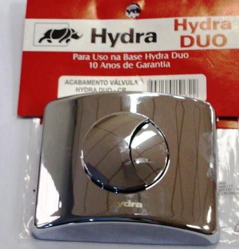 Acabamento Valvula Hydra Duo CR - 4900CDUO