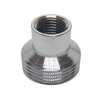 Adaptador Filtro 1/4 x 3/4 f x m Cromado - 3300305