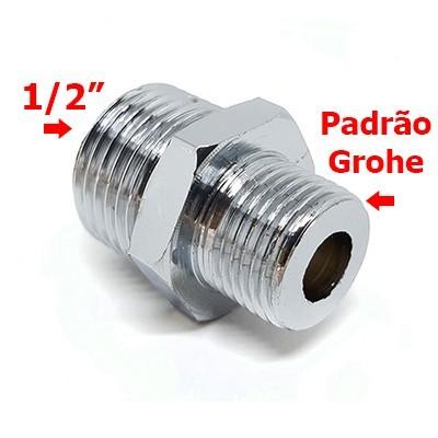 ADAPTADOR MONOCOMANDO COZINHA GROHE X 1/2
