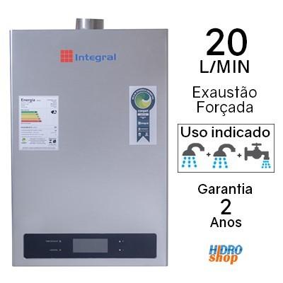 AQUECEDOR A GÁS 20 L/MIN ASTRA GN DIGITAL