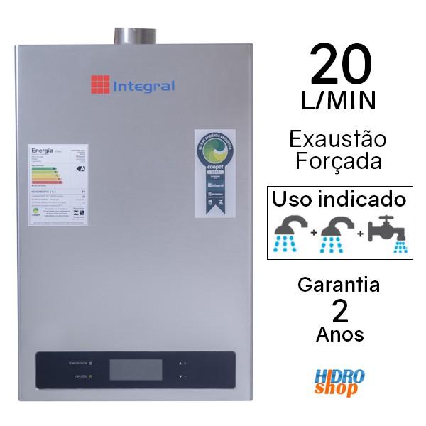Aquecedor a Gás 20 L/min Astra Gn Digital - AG20ND1