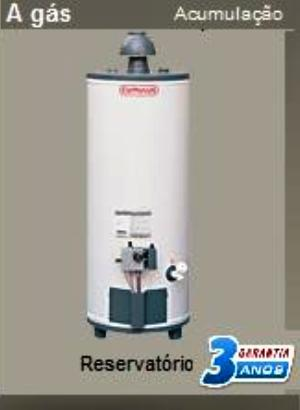 Aquecedor a Gás de Acumulação 150 Litros Cumulus Gn ou Glp - AQAC150