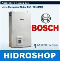 AQUECEDOR BOSCH GWH500CTDE GAS GN 23 L/MIN BIVOLT
