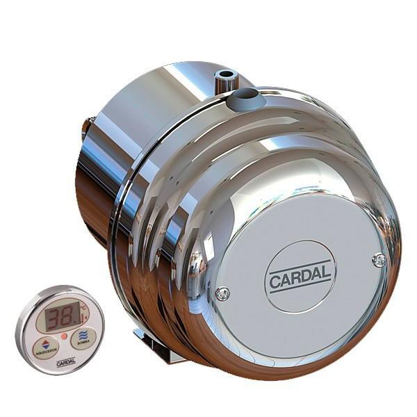 Aquecedor Cardal Hidro Digital Inox 5200w 220v - AQ086/2